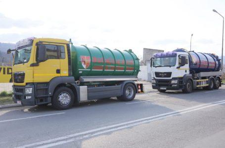 Drumurile județene din Neamț, dezinfectate cu 4 cisterne