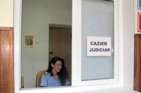 Iată programul Serviciului Cazier Judiciar Neamț începând cu 25 mai