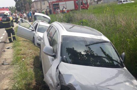 Accident grav, vineri, la Brusturi! Coliziune cu victimă între 2 autoturisme