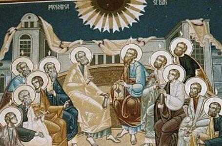 Astăzi, Rusaliile. Duminica Cincizecimii sau a Pogorârii Sfântului Duh! Este ziua întemeierii Bisericii creștine!