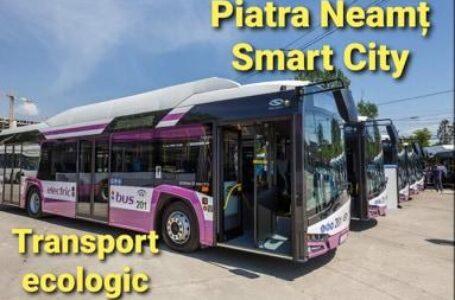 Transport public ecologic și inteligent în Piatra-Neamț, prin fonduri europene