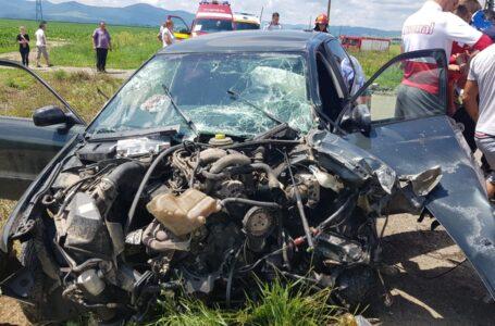 Accident cu 6 victime în intersecția Izvoare cu Mărgineni (Papuc)