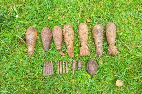 Descoperire explozivă cu detectorul de metale în pădurea Cărbuna, din Vânători Neamț