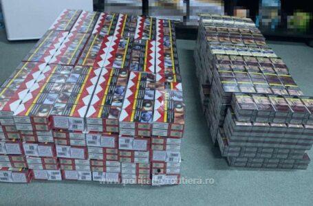 Descinderi la contrabandiștii de țigări din Piatra-Neamț