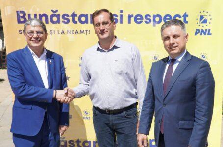 Roznov: Vasile (Lică) Pavăl, susținut de ministrul Fondurilor Europene în viitorul mandat de primar