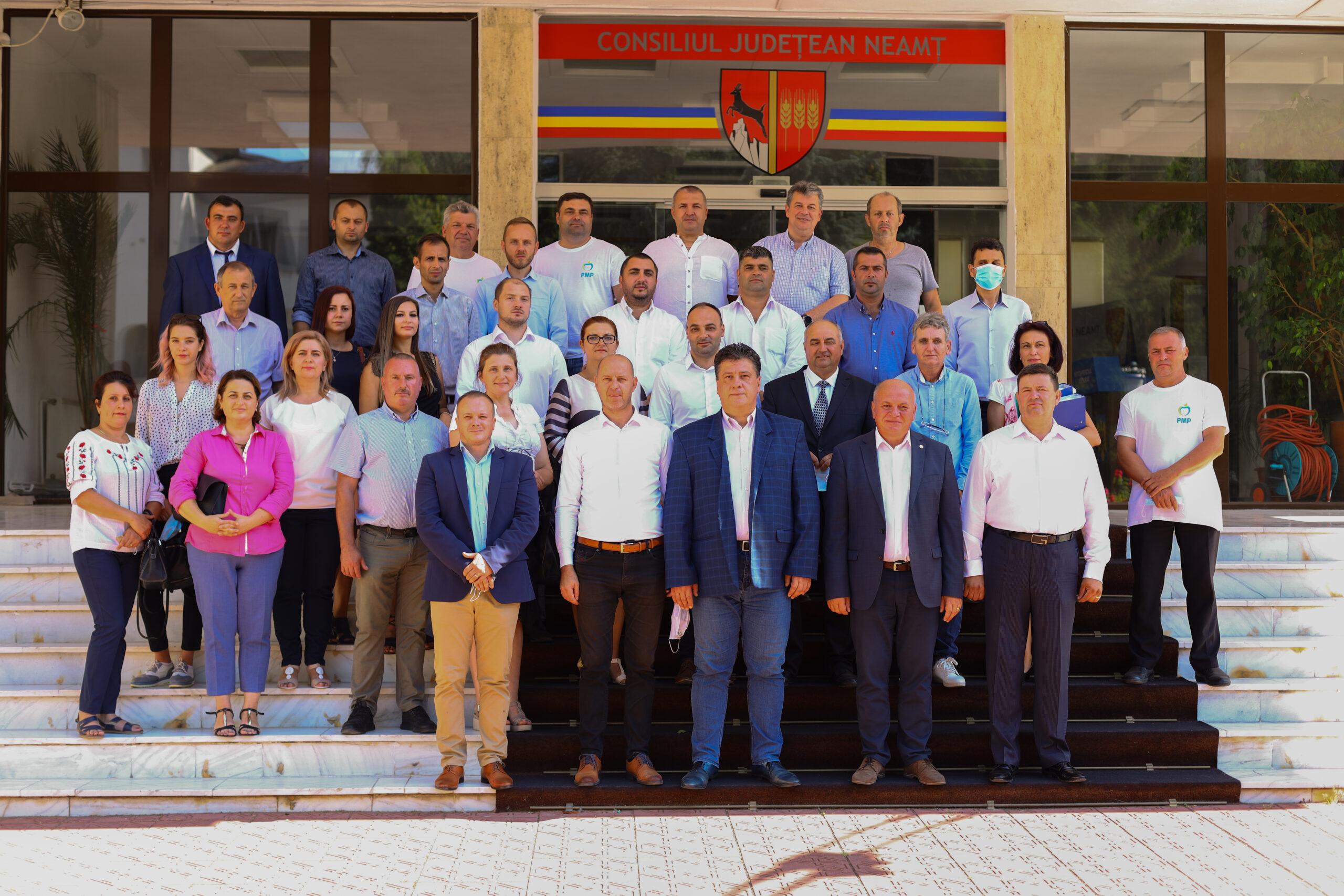 Bogdan Gavrilescu (PMP) și-a depus candidatura la președinția Consiliului Județean Neamț