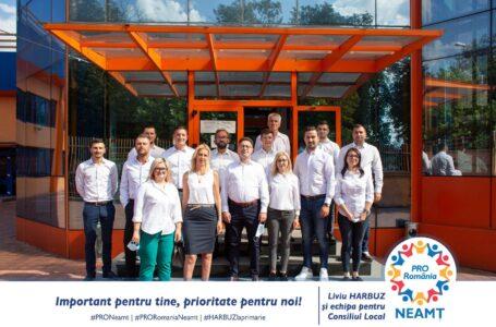 Liviu Harbuz și-a depus candidatura pentru funcția de primar al municipiului Piatra-Neamț