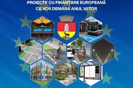 Primăria Piatra-Neamț: 26 de proiecte europene în valoare de 53.5 milioane euro, cu contractele de finanțare semnate