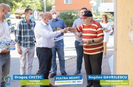 """Dragoș Chitic: """"În toată perioada mandatului meu de primar am fost pe teren în toate cartierele orașului"""""""