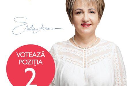 Emilia Arcan (PRO România Neamț): Avem nevoie de un buget focusat pe investiții greenfield.