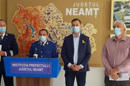 CJSU a aprobat vineri restricții în Piatra-Neamț, Târgu Neamț și 5 comune