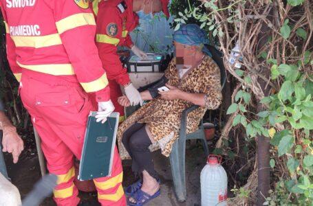 Explozie urmată de incendiu într-o locuință din Piatra-Neamț. Doi bătrani au suferit arsuri.