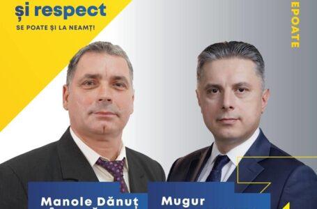 Manole Dănuț FÂRȚALĂ – candidat PNL Primăria Tarcău: Împreună pentru schimbare, dezvoltare și modernizare!