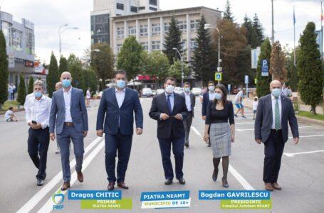 Candidaţii PMP Neamţ, susţinuţi de liderii de la centru