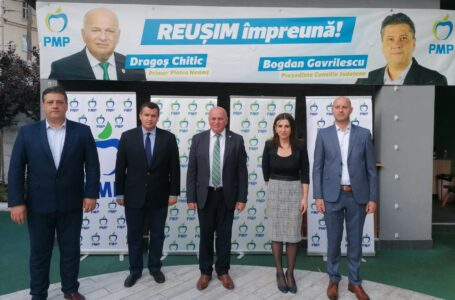 """Eugen Tomac (președinte PMP): """"Echipa Chitic – Gavrilescu va da un ton extrem de bun pentru viitorul orașului și al județului!"""" (video)"""