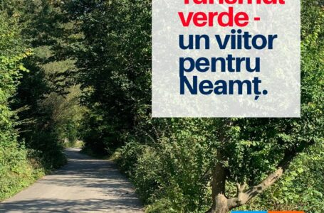 Florin Zaharia (USR PLUS): Un Neamț verde, care să-și primească vizitatorii – și investitorii – cu brațele deschise