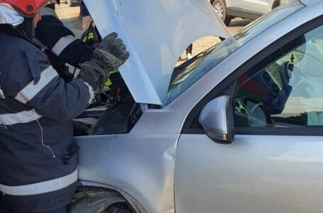 Un nou accident în intersecția morții de la Girov