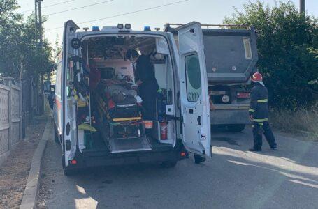 Bărbat accidentat mortal de un camion în Piatra-Neamț