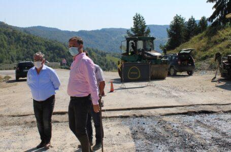 Prefectul George Lazăr, total nemulțumit de stadiul lucrărilor DN 15 Bicaz – Poiana Largului