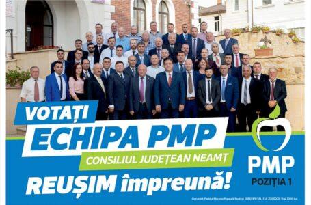 Echipa PMP, garanția unui oraș și a unui județ de 10+