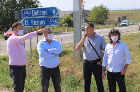 Intersecția semaforizată de la Girov va fi finalizată în două săptămâni