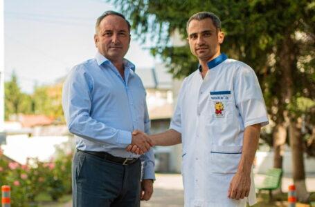 """Primarul Daniel Harpa, investiții în sănătatea locuitorilor din Târgu Neamț! """"Prima bogăție a omului e sănătatea!"""""""