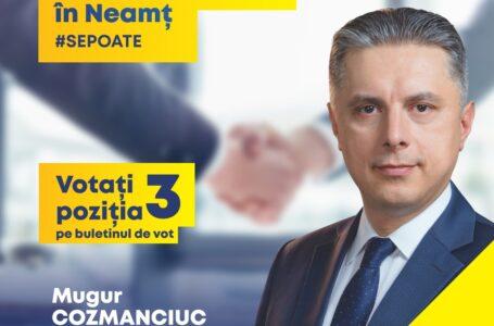 Mugur Cozmanciuc(PNL): Construim în Neamț un Centru Național de Sănătate! Pentru sănătatea nemțenilor avem la dispoziție 100 milioane euro