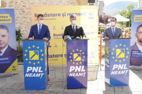 Europarlamentarul Siegfried Mureșan: Susțin candidatura lui Mugur Cozmanciuc la președinția Consiliului Județean Neamț!