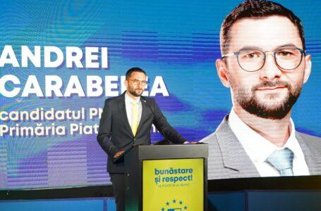 Primarul ales, Andrei Carabelea, mesaj către locuitorii municipiului Piatra-Neamț