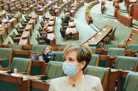 """Senatorul Emilia Arcan: """"Am dat un vot împotriva Guvernului Orban să vândă la bucată ultimele companii cu capital de stat!"""""""