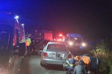 Poliția explică modul de producere al accidentului de la Dragomirești care a declanșat Planul Roșu de Intervenție