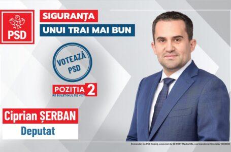 """Ciprian Șerban (PSD Neamț): """"PNL, pentru a-și atinge scopurile, bagă mâna în buzunarul oamenilor"""""""