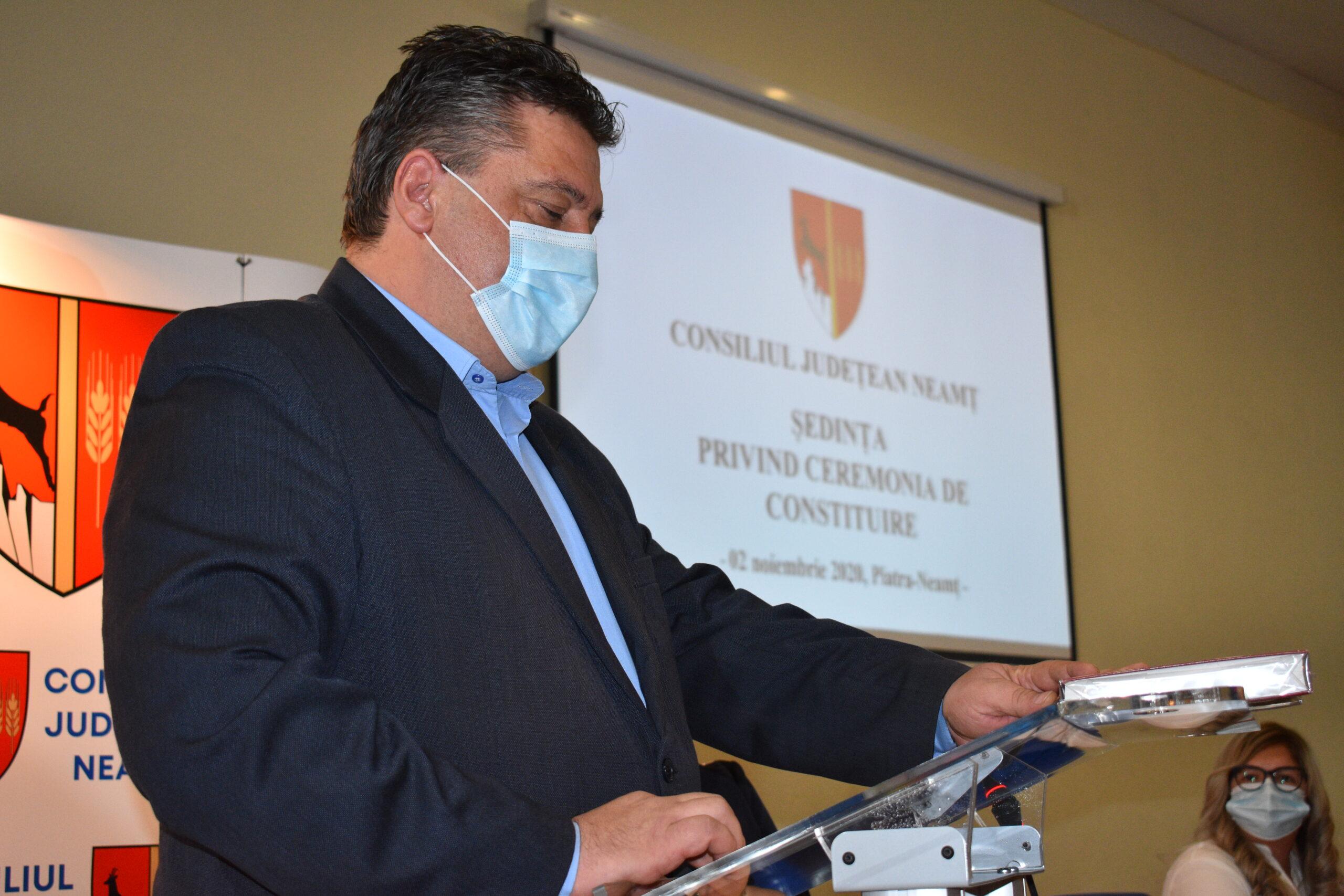 PMP nu participă la consultările de la CJ Neamț
