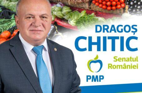 """Dragoş Chitic: """"Ca parlamentar, voi sprijini fermierii români pentru a vinde românilor produse româneşti"""""""