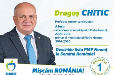 "Dragoș Chitic (PMP): ""Ca primar de Piatra-Neamț, am atras 53 milioane euro – fonduri europene!"""