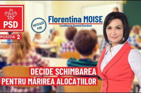 """Florentina Moise (PSD Neamț): """"Peneliștii au pus cruce dublării alocațiilor!"""""""