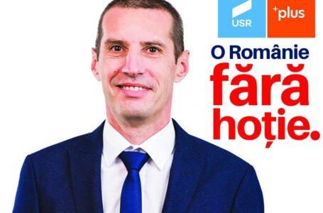 """Florin Zaharia (USR PLUS Neamț): """"Îmi doresc ca Neamțul să aibă o voce puternică în Parlament, care să lupte pentru oameni!"""""""