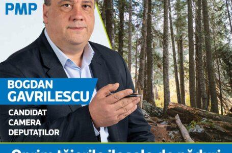 """Bogdan Gavrilescu (PMP): """"Oprirea tăierilor ilegale de păduri și a depozitărilor ilegale de deșeuri- PRIORITĂȚI!"""""""
