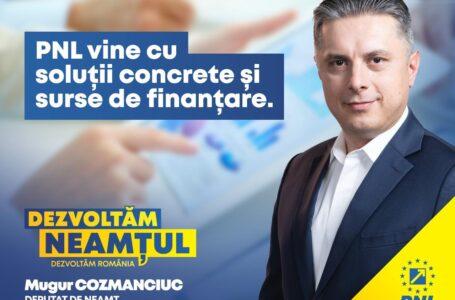 PNL știe, poate și are resursele pentru dezvoltarea României, pentru dezvoltarea Neamțului