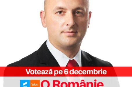 Radu Samsons (USRPLUS) este noul viceprimar al municipiului Roman