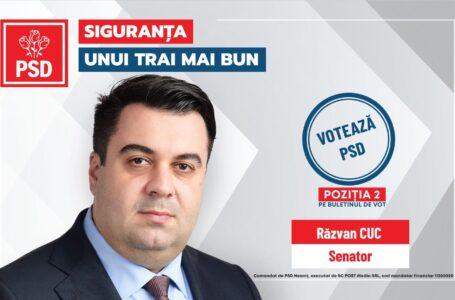 Răzvan Cuc: PSD garantează fonduri europene pentru dezvoltarea regională a României!