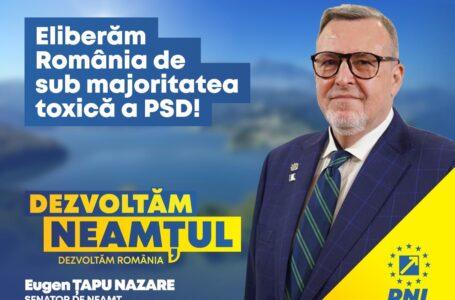 """Eugen Țapu-Nazare, PNL: """"Investițiile sunt prioritatea PNL"""""""