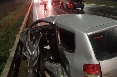 Accident cu 4 victime pe E85 la Cordun