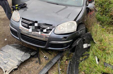 Grav accident, cu persoane încarcerate, pe E85 lângă Roman (foto)