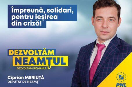 Dr. Ciprian Meriuță (PNL Neamț): Vaccinarea, în contextul pandemiei generate de noul coronavirus, un gest de moralitate și solidaritate