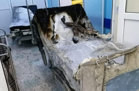 Șeful secției ATI din spital: Totul s-a întâmplat foarte repede. Costumul medicului a luat foc.