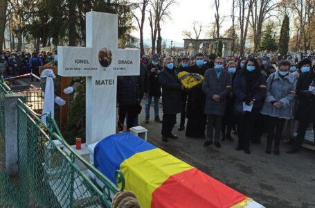 Adio, Dragă Doamna Draga Olteanu Matei. Înmormântare cu onoruri militare. (video/foto)