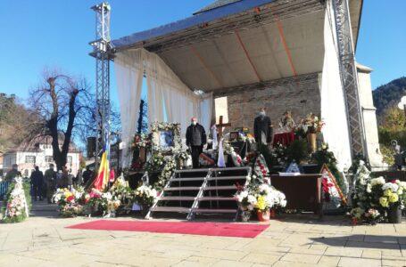 Pietrenii își iau rămas bun de la Draga Olteanu Matei (foto-galerie)
