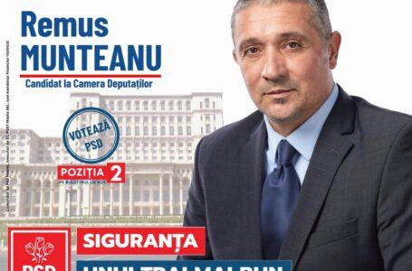 """Remus Munteanu (PSD Neamț): """"Să le aducem aminte liberalilor!"""""""