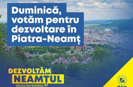 Andrei Carabelea, primar (Piatra-Neamț): Votul tău contează! Vino pe 6 decembrie la vot să susții dezvoltarea municipiului Piatra-Neamț